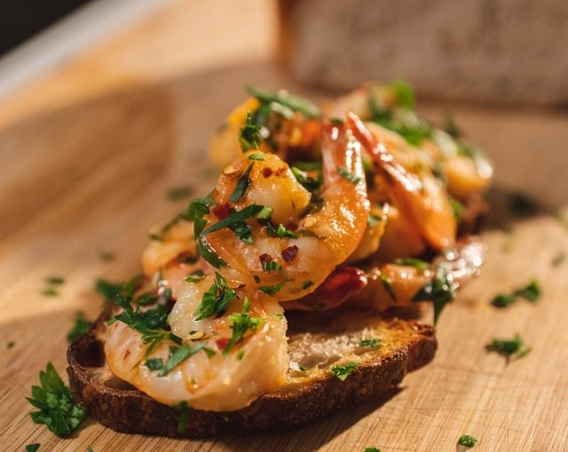 Baked Shrimp With Chili-Garlic Butter Recipe